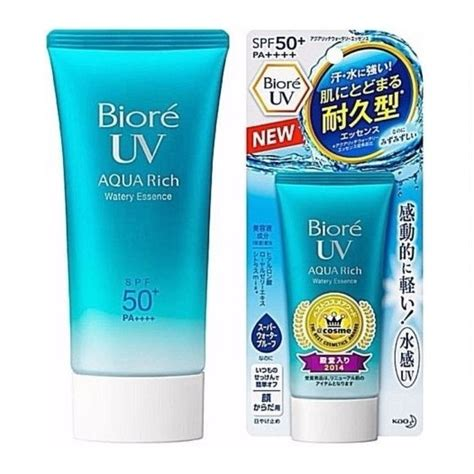 Biore Uv Water Essences Spf 50 Spf50 50ml 50 Ml biore uv aqua rich watery essence spf50 pa 50g hermo