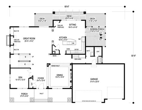 house measurements floor plans kensington 8993 4 bedrooms and 3 baths the house designers