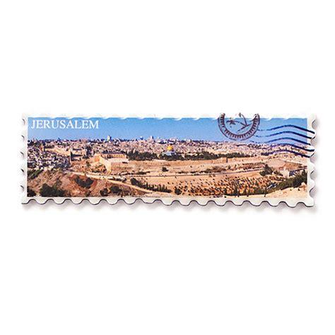 Souvenir Magnet Kulkas Jerussalem jerusalem panorama fridge magnet souvenirs israel shop2blessisrael
