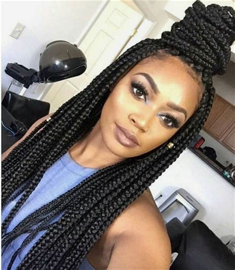 box braids cute styles to the side cute box braid hairstyles how to make them heart bows