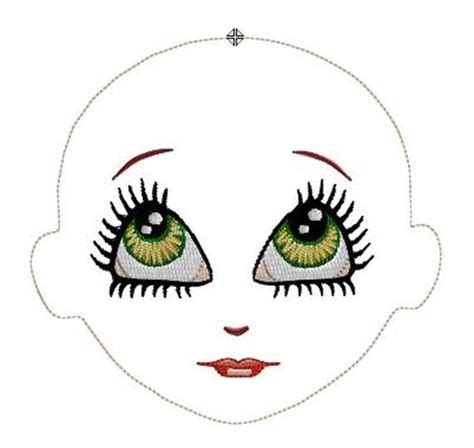 embroidery face 1000 images about embroidery dolls and faces on