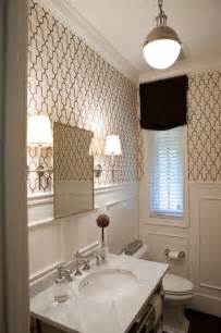 wallpaper for bathroom ideas powder room traditional powder room baltimore by elizabeth reich