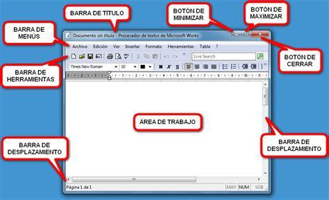 imagenes de windows 10 y sus partes barra de men 250 curso de inform 225 tica b 225 sica