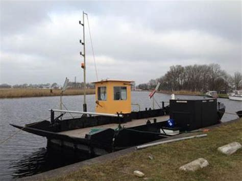 very small boats for sale small ferry very well maintained self propelled pontoon