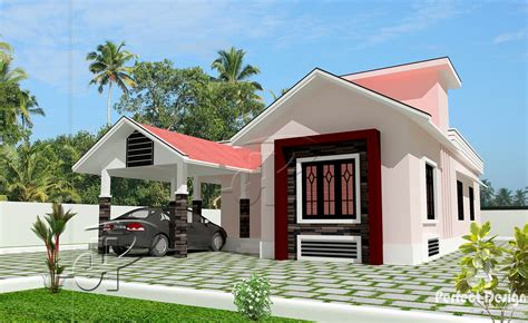 1043 sq ft beautiful home kerala home design