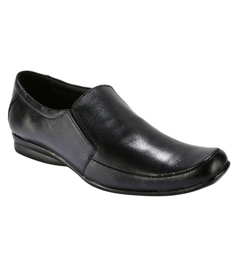bacca bucci modern black formal shoes price in india buy