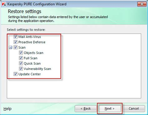 reset kaspersky to default settings how to restore default settings in kaspersky pure r2