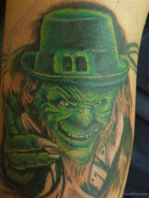 tattoo ink green green ink leprechaun tattoo tattoo designs tattoo pictures
