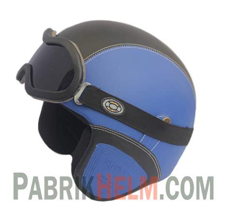 Kyt Elsico Klasik helm retro kulit pabrikhelm jual helm murah