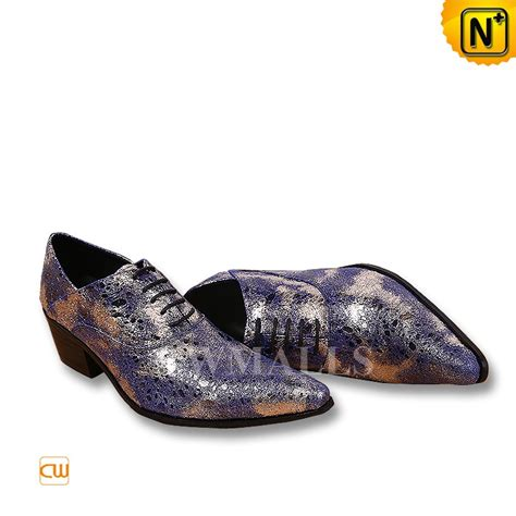 designer oxford shoes cwmalls 174 mens glitter lace up dress shoes cw752229