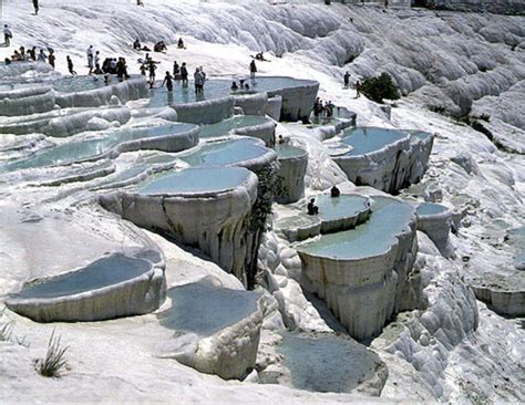 pamukkale thermal pools pamukkale turkey the cotton castle lazer horse