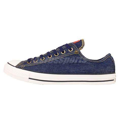 Converse Navy Denim converse chuck all navy denim mens casual shoes sneakers 151077c ebay
