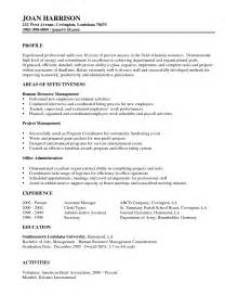 administration officer resume