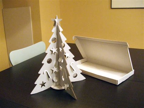 building a xmas tree box diy cardboard tree 9 tutorials guide patterns