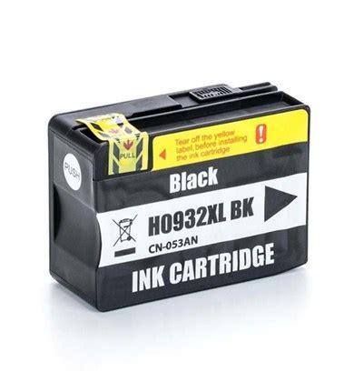 Tinta Hp 932 Xl Black Ink cartucho de tinta compat 237 vel hp 932xl preto cn057al