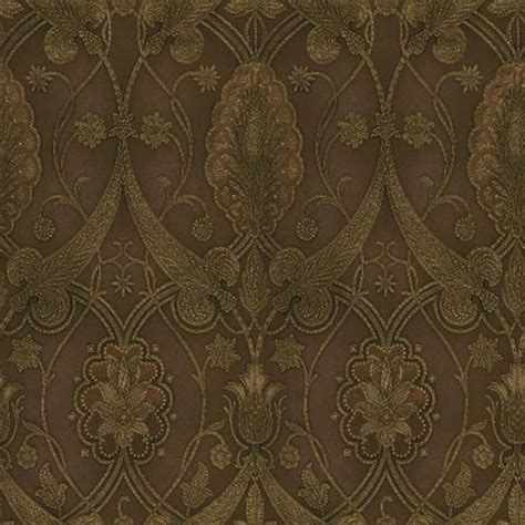 chocolate damask wallpaper elisabetta damask damask wallpaper damasks and wallpaper