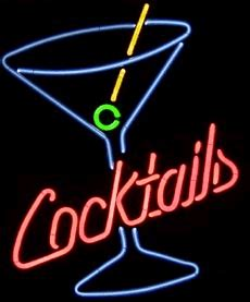 birthday martini gif cocktails neon sign gif 4976 animate it