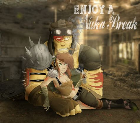 Meme Creator Feral Ghouls Feral Ghouls Everywhere Meme - enjoy a nuka break by pistachiozombie on deviantart