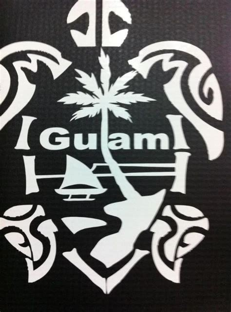 guam tribal tattoo designs guam seal with tribal turtle decal www mangofix