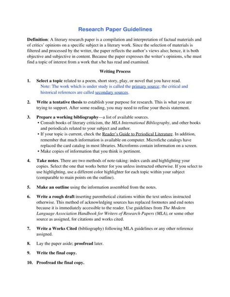importance of research paper importance of a research paper outline pdf free