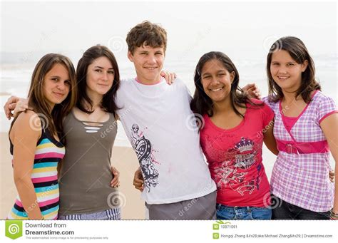 Friends On by Friends Stock Image Image 10971091