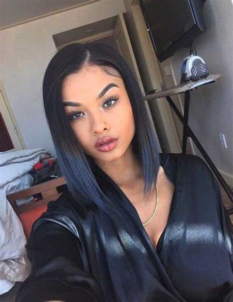 side part hairstyles for black women short haircut for straight hair 2016 the best short