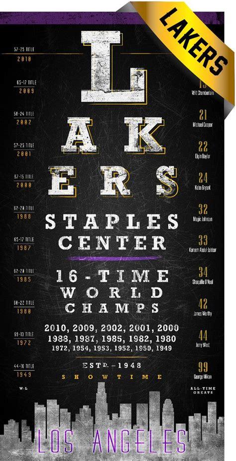 printable eye chart gift la lakers eye chart perfect birthday anniversary or