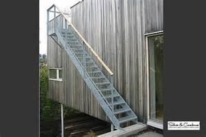 Escalier Exterieur Metallique