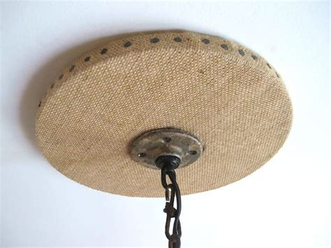ceiling canopies for light fixtures diy burlap chandelier canopy light fixture canopy