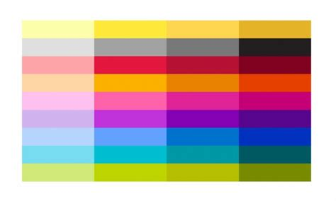 color image colour palette brand of waterloo