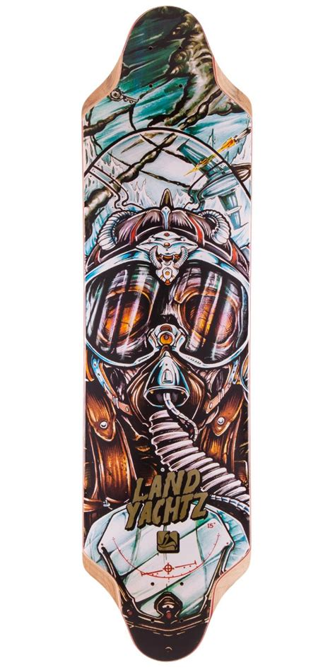 Cruising Longboard Decks by Landyachtz Top Speed 36 Longboard Skateboard Deck 2015