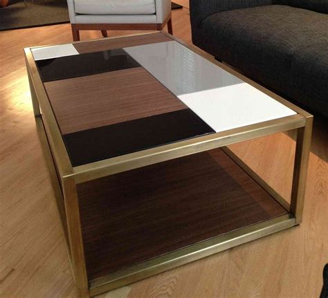 Custom metal modern coffee table base by andrew stansell design custommade com