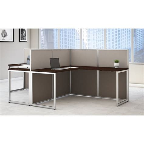 bush office desk bush business furniture easy office l shaped desk for 2