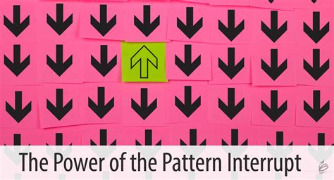 wp pattern interrupt the power of the pattern interrupt