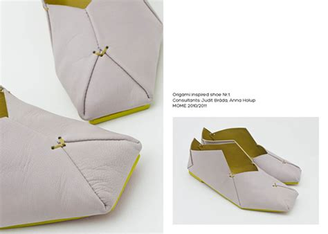 How To Make Origami Shoes - origami shoes on behance