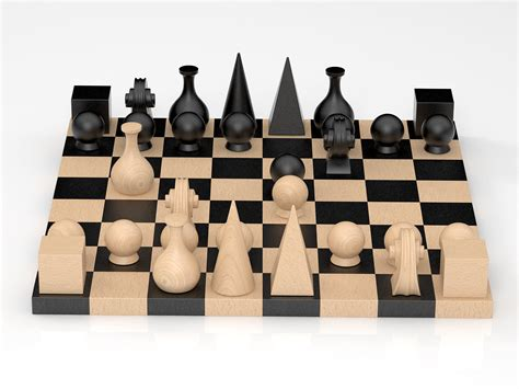 man ray chess man ray chess 3d model klein more