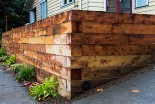 Landscape Timbers 6x6 Hefty 6x6 Juniper Landscaping Timbers Were Used For This