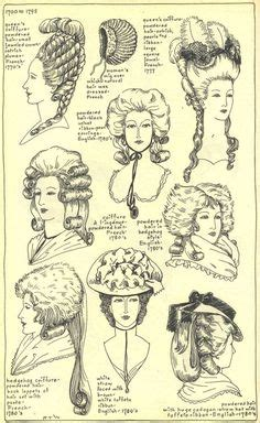 vigina hair history styles 18th century woman s hairstyles a collection of the