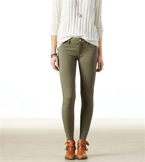 american eagle knit jeggings found on ae