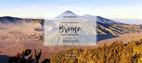 bromo every weekend start surabaya adventure