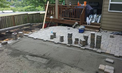 how to lay a patio with pavers portland landscaping landscaping in portland oregon