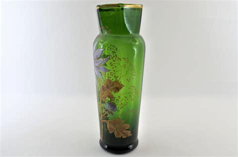 vasi vetro soffiato vaso legras in vetro soffiato e smalti