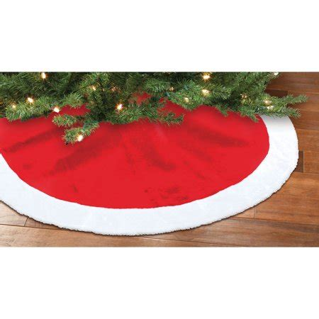 tree skirts walmart time decor and white plush tree skirt walmart
