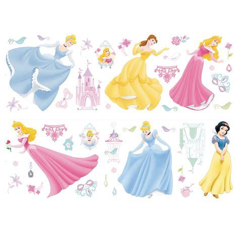 disney princess stickers for walls disney princess jewels stikarounds 41 wall stickers ebay