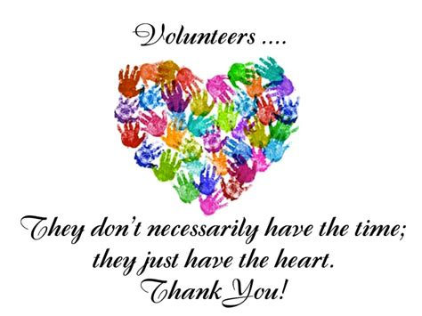 Volunteer Thank You Letter Quotes thank you for volunteering volunteer thank you quotes