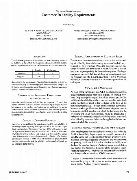 iee template ieee xplore conference table of contents