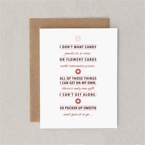 cheeky saucy valentines poems 13 perfectly honest s day cards that are as