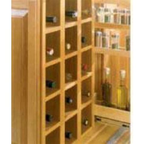 base cabinet wine storage design journal archinterious storage base wine rack