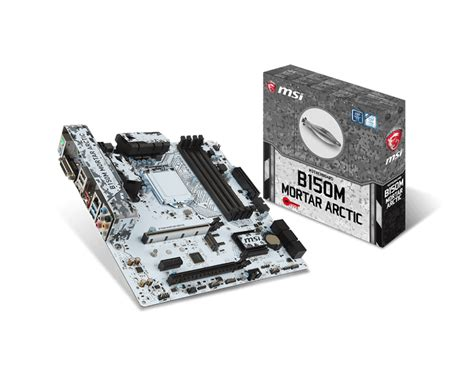 Motherboard Msi B150m Mortar overview for b150m mortar arctic motherboard the world