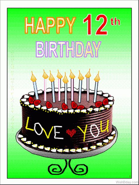 12 wishes of 62 12th birthday wishes
